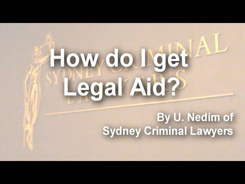 How do I get Legal Aid?