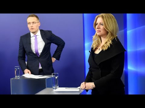 Slovakia prepares to elect liberal lawyer as first female president
