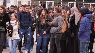 Elbasan, studentë e gjimnazistë nisen drejt Tiranës - Top Channel Albania - News - Lajme