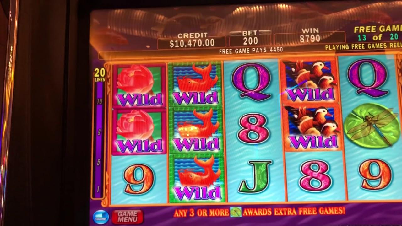 Lotus Flower Slot Machine Massive Jackpot Friday Fun High Limit