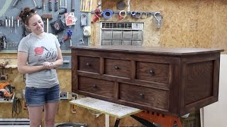 build a coffee table with storage