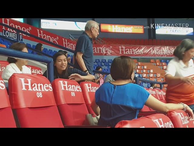 Alyssa Valdez, Maddie Madayag & Kat Tolentino Supporting Ateneo