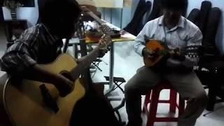 Triệu đóa hồng - mandolin + guitar
