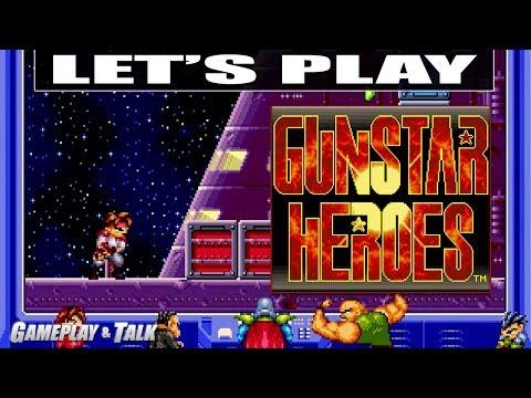 Let's Play Gunstar Heroes For The Sega Genesis