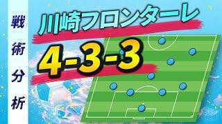 川崎フロンターレが2020シーズンに採用する新システム4-3-3の戦術について、攻撃・守備それぞれの特徴を図解を用いて解説しています。 さらに、2...