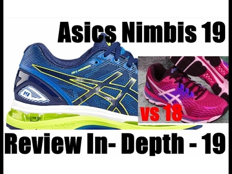 Asics Nimbus 19 In Depth Review! 19 vs 18 Better but not totally different