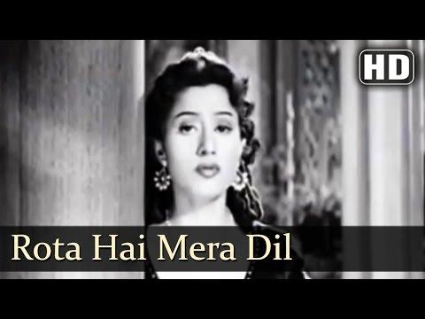 Rota Hai Mera Dil  Badal 1951 Song  Madhubala  Lata Mangeshkar  Sad Song