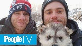 Meet Olympian Gus Kenworthy's Rescue Pup, Beemo! | PeopleTV | Entertainment Weekly