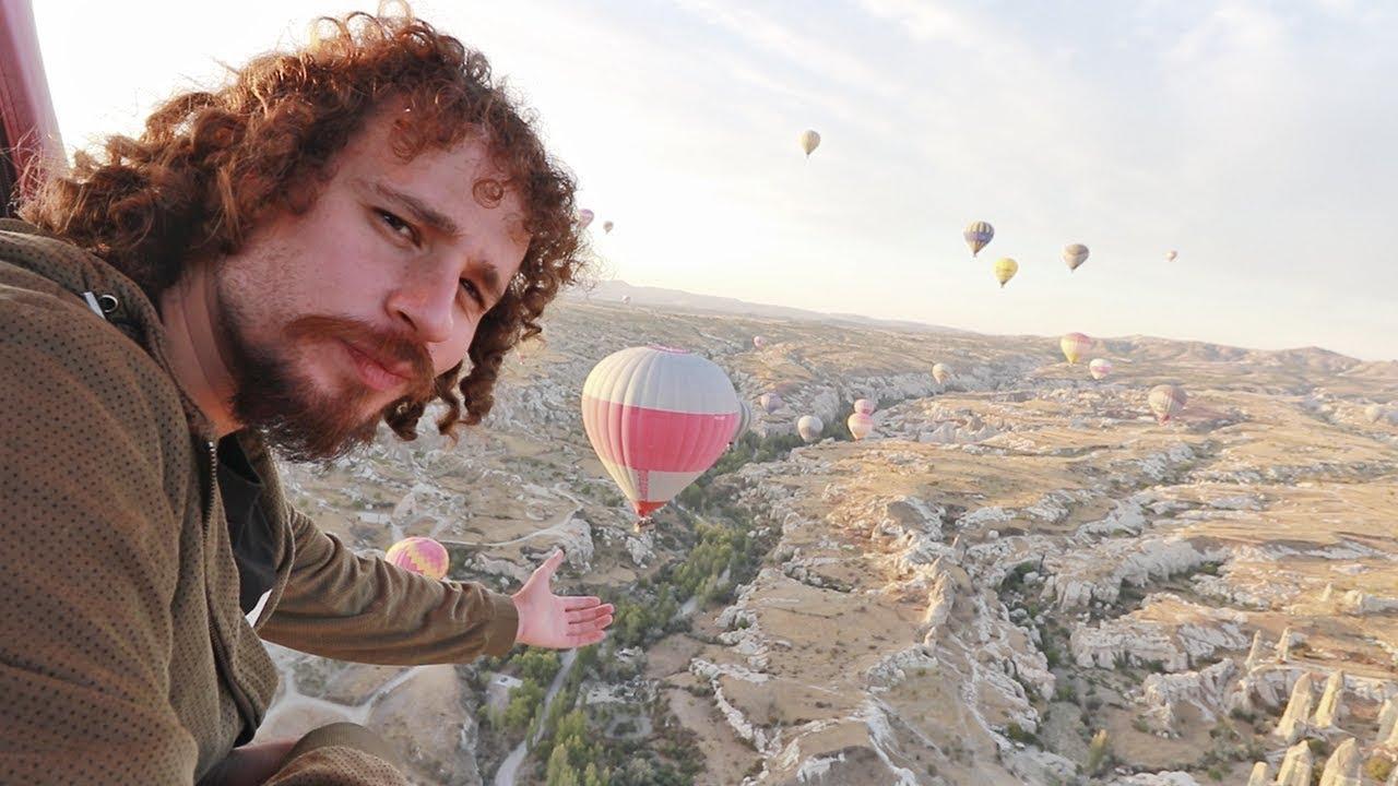 ¿Qué se siente volar a 900 METROS en un globo? | Capadocia - Turquía
