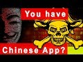 chineese application hack your data