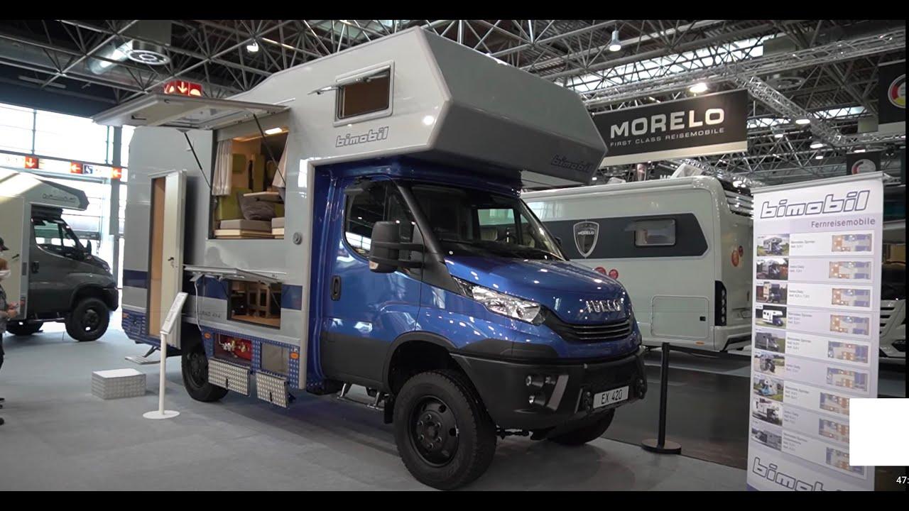 Bimobil Wohnmobil 9 EX9 Iveco Daily 9x9 9 Expeditions-Wohnmobil  Caravan Salon 9