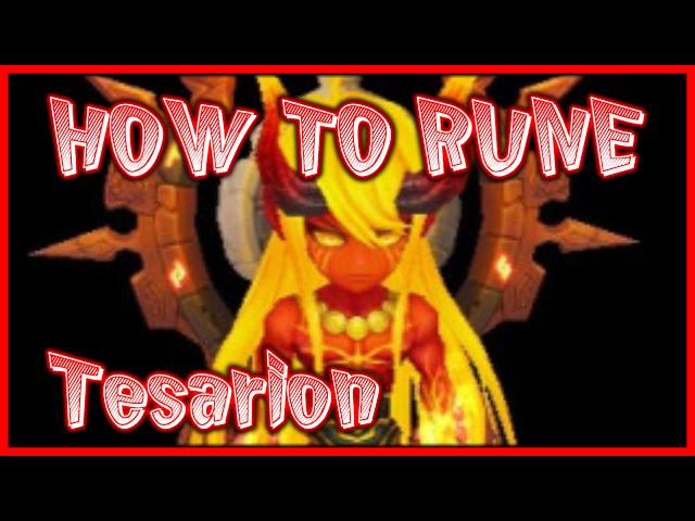 Fire Ifrit Tesarion Summoners War Runes And Guide