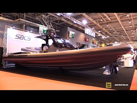 2016 Sacs Strider 13 43feet Inflatable Boat - Walkaround - 2015 Salon Nautique de Paris