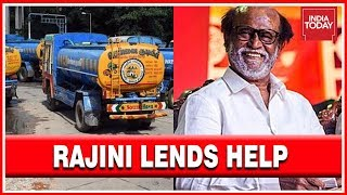 Rajinikanth's Party Dispatches Water Tankers In Parched Kodampakkam Area Of Chennai