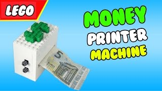 LEGO Money Printer Machine Trick