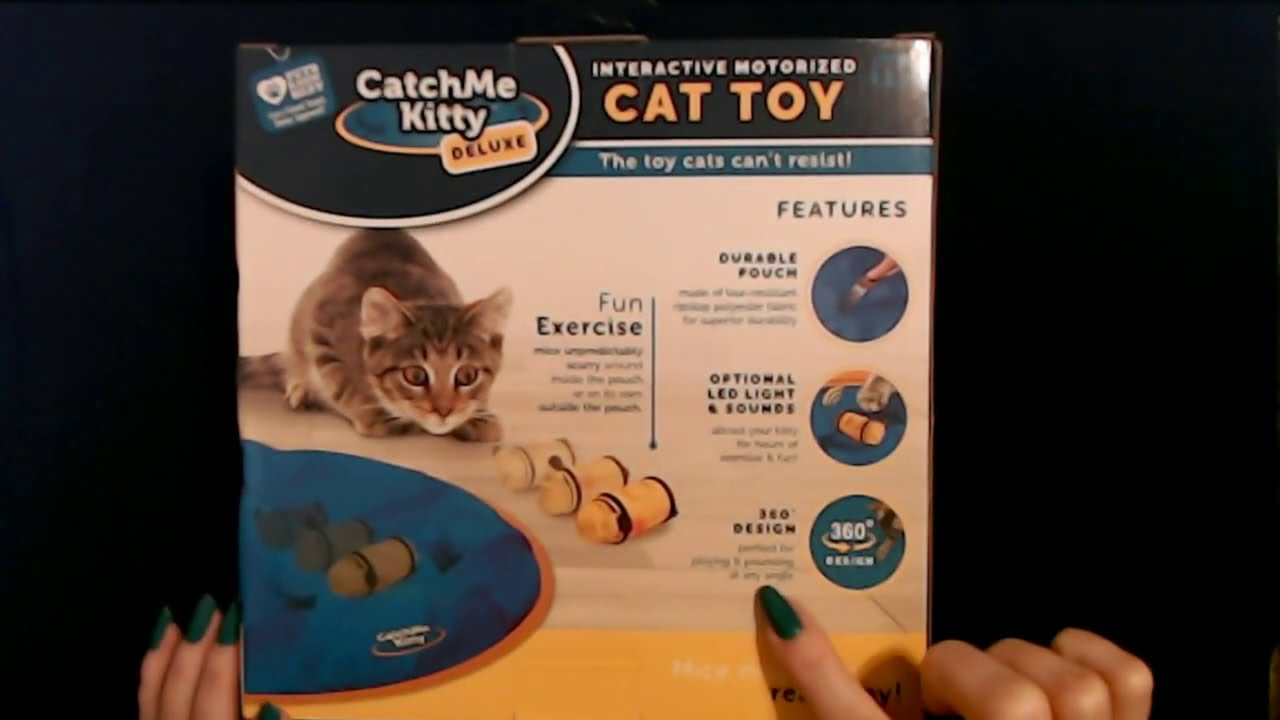 """Trying Out a """"Catch Me Kitty""""   Unboxing & Demonstration"""