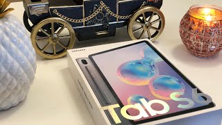 New 2019 Samsung Galaxy Tab S6 Unboxing