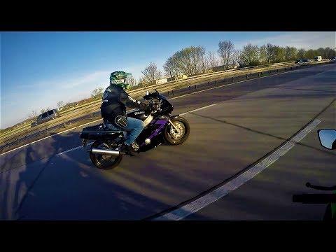 Kawasaki Ninja 300 vs Yamaha FZR 600