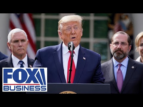 Trump holds press conference in the Rose Garden