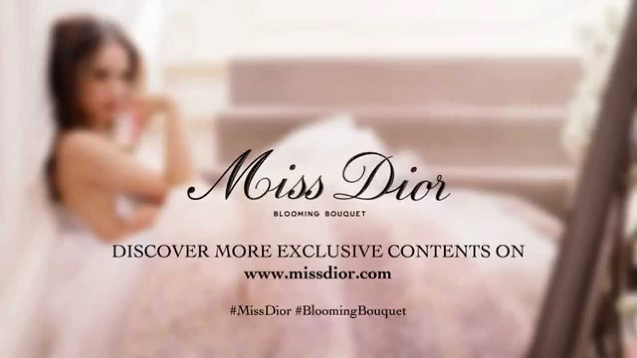 Miss dior blooming bouquet youtube miss dior blooming bouquet izmirmasajfo