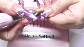 HOW TO REMOVE CRYSTALS AND 3D FLOWERS   ABSOLUTE NAILS