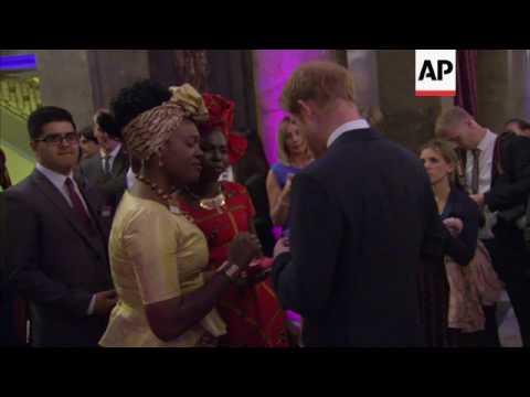 Prince Harry at Australia House awards ceremony