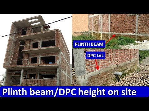 Difference Between Plinth Beam and DPC