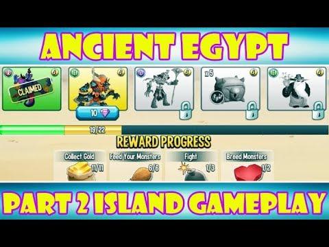 Monster Legends | Ancient Egypt Island Part 2 Gameplay!