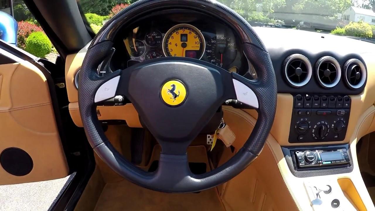 2005 Ferrari 575 Superamerica Youtube
