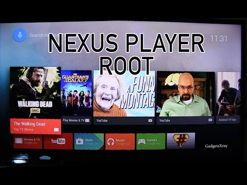 Nexus Player - How to Root Android Tv