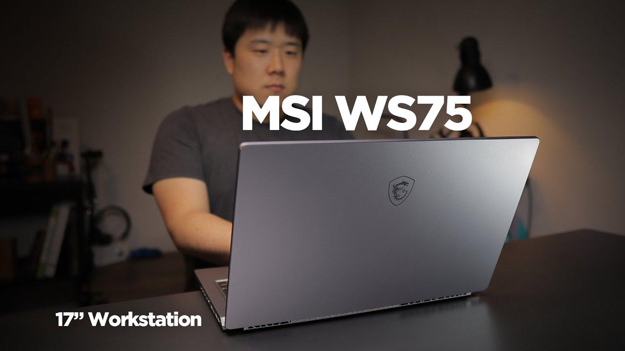 MSI WS75 - 17