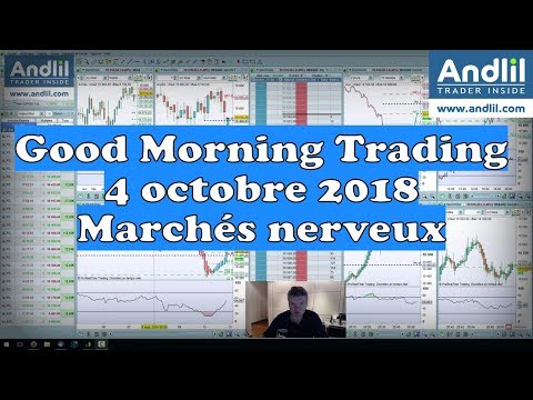 Good Morning Trading 4 octobre 2018 Marchés nerveux Cac 40 Dax 30