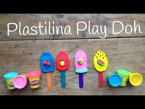 Helados de plastilina, aprende cómo hacer figuras de plastilina para niños