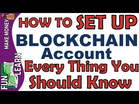 How To Create Blockchain Account (The Bitcoin Wallet) | Every Thing You Should Know