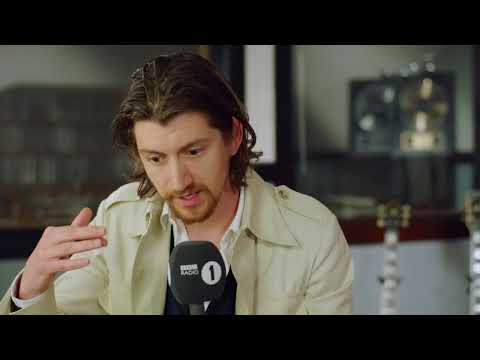 Arctic Monkeys Alex Turner BBC Radio 1 Interview - 10th May 2018