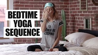 20 Minute Relaxing Bedtime Yoga Sequence to Help You Sleep (Yoga Class)