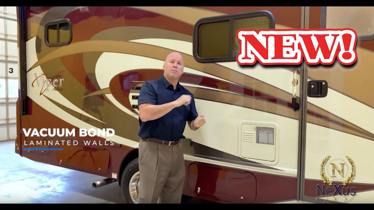 Viper Class B Plus gas Motorhomes by NeXus RV - Chris Sanchez Clear