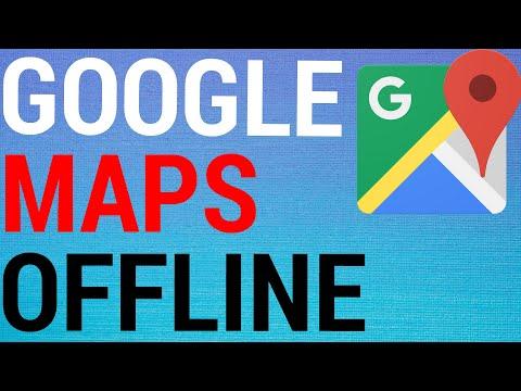 How To Use Google Maps Offline 2020!
