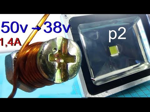 Connect The LED Bulb To 220v Ac  How To Power Dc For LED Flood