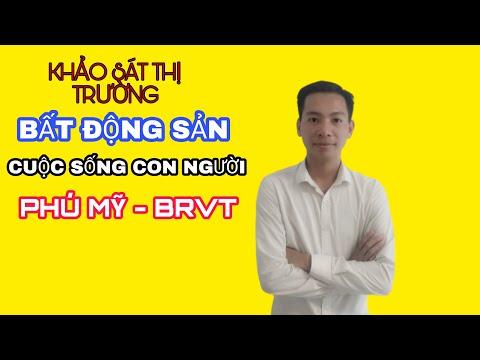 Chuyến khảo sát thị trường bất động sản Phú Mỹ  Bà Rịa Vũng Tàu cùng anh chị em tại P.Hắc Dịch