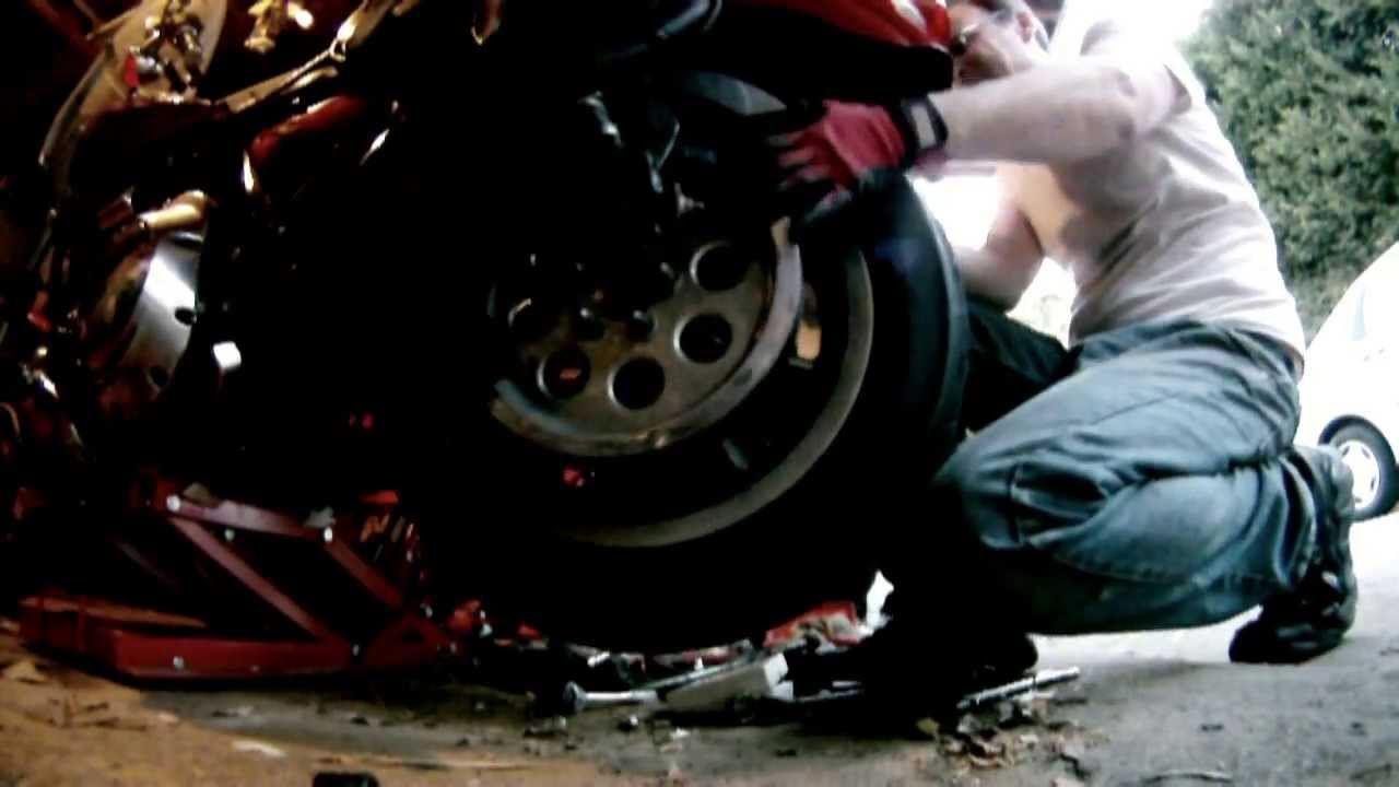 How To Change The Tire On A Harley Davidson Motorcycle Youtube 45 Engine 1450 Diagram