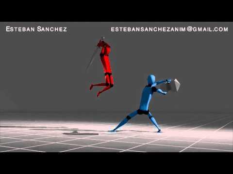 Animation Demo Reel 2016 - Esteban Sanchez