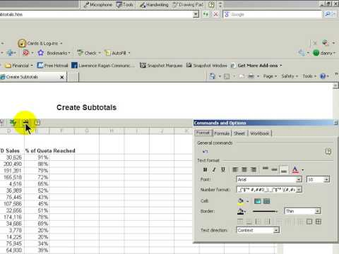 Publish Excel Workbooks As Interactive Webpages