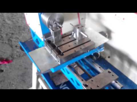Mini cnc torna lathe demir işleme