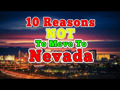 Top 10 Reasons NOT to move to Nevada.