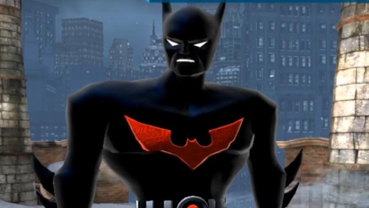 Ps3 Animated Wallpaper Batman Arkham Origins Batman Beyond Suit Hd