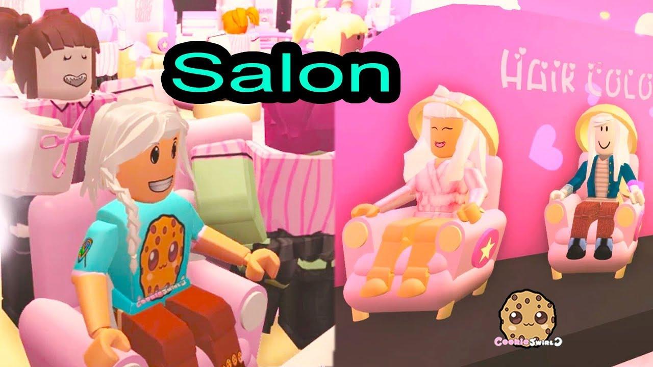 Hair Style Salon + Spa - Roblox Cookie Swirl C Game Play Video