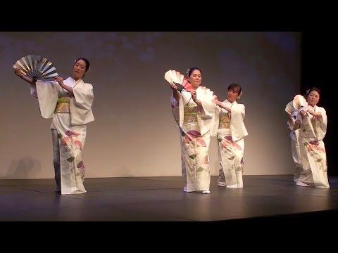 Japanese Folk Dance (Odori) at Haru Matsuri Toronto - 春祭り 2014 日系文化会館