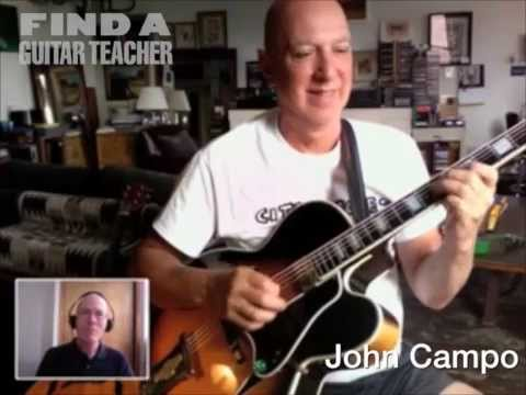 Guitar Lessons with NYC Guitar Teacher John Campo