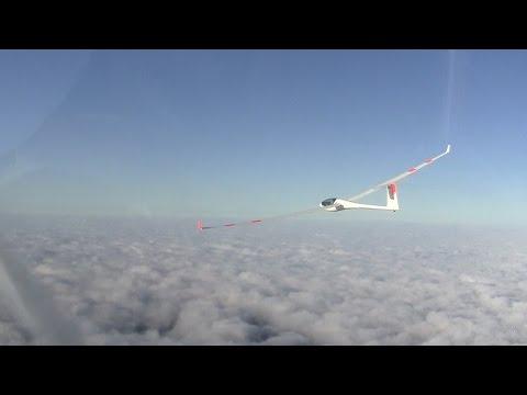 Wellensegelflug im Rheintal / Wave Gliding in Rhine Valley
